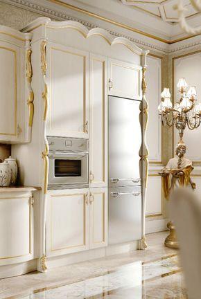 Cucina Stile Barocco Tra Opulenza Ed Eleganza Casa Magazine
