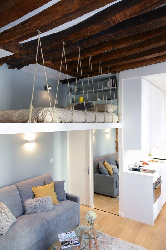Come Arredare Con Stile Un Mini Loft Con Soppalco Casa Magazine