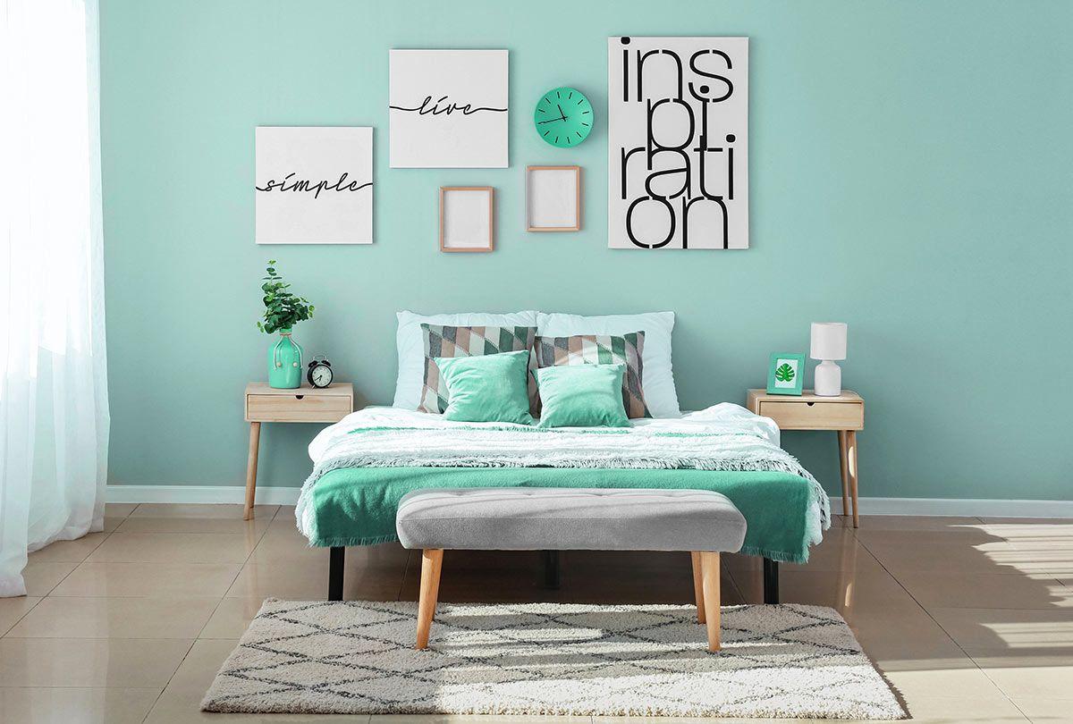 Verde Tiffany Parete